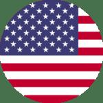 USA Flog Circle Icon